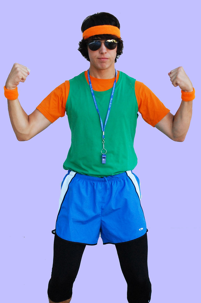 asb 80s workout costume for the camp themes tyler