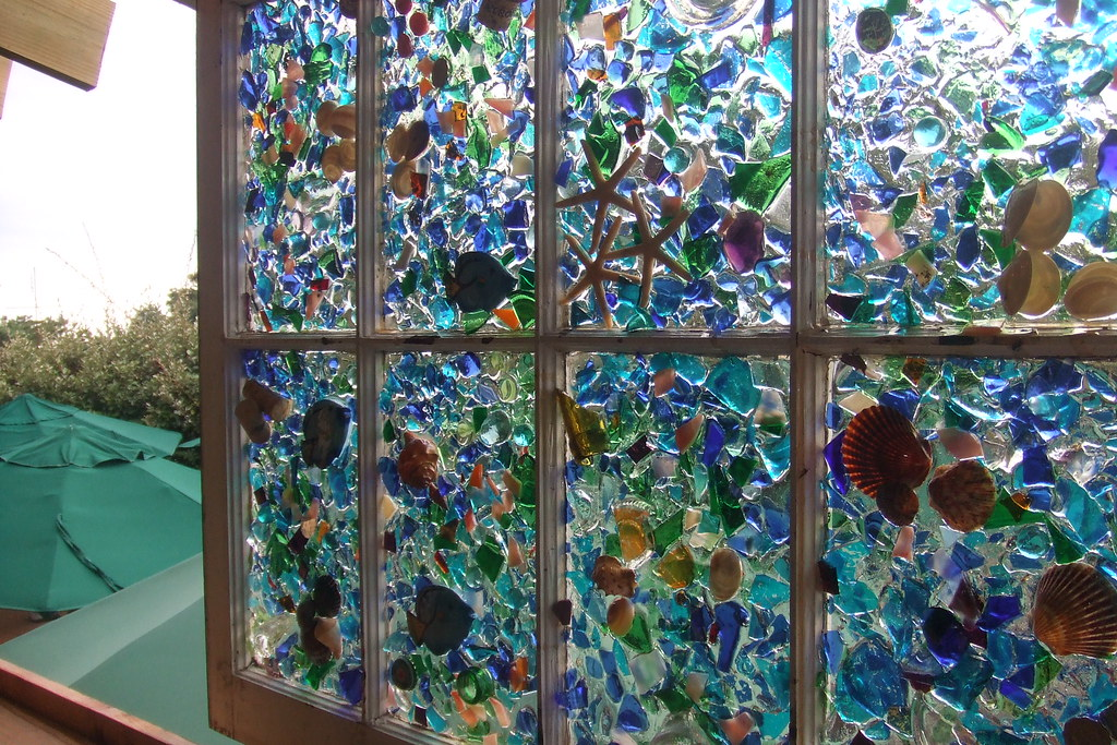 Window art several years ago when an addition was added for Art glass windows