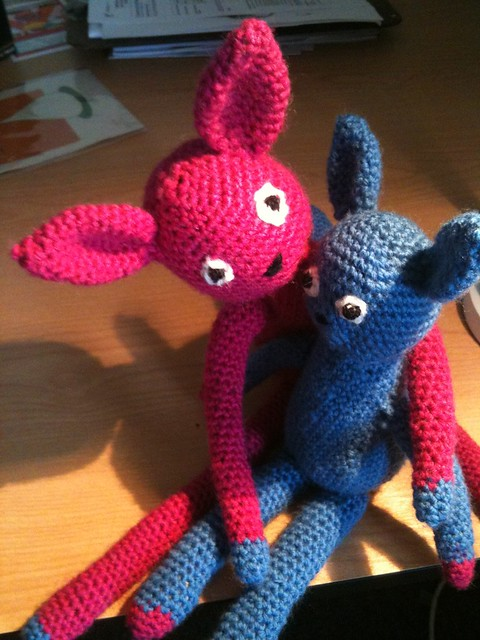 Monster Amigurumi Vol 5 : Amigurumi monsters! I made these guys for my cousin ...