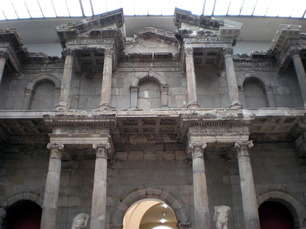 Berlin pergamon museum porta del mercato di mileto 505 - Porta di mileto ...