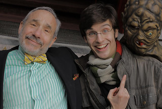 With m'colleague Lloyd Kaufman | by Sir Tim Aarts