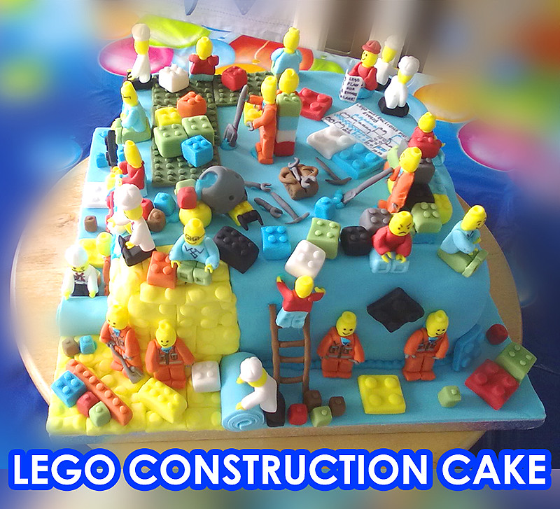 Construction Cake From The Birthday Room At Legoland Disco Flickr