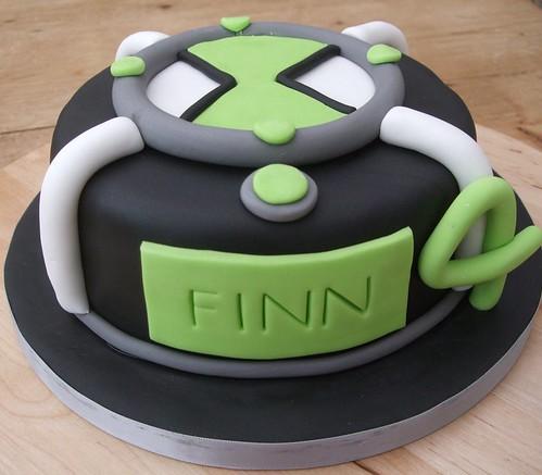 Finns Ben 10 Cake This Cake Is For My Lovely Nephew Finn