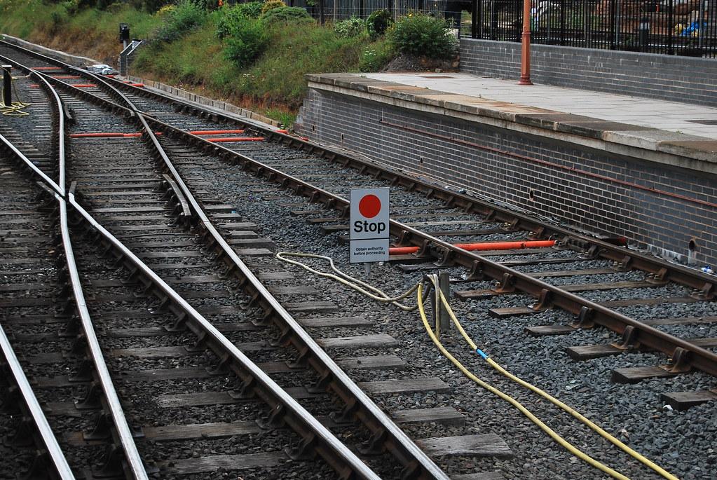 Stop Board Railway Railway Stop Board | by