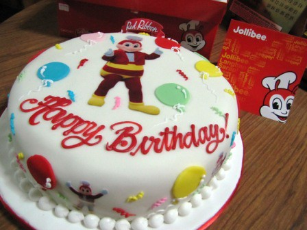 Jollibee Cake Red RibbonJollibee Dedication By Red Ribbon Birthday