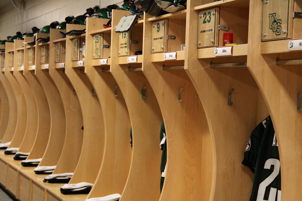 Football Locker Room Nude