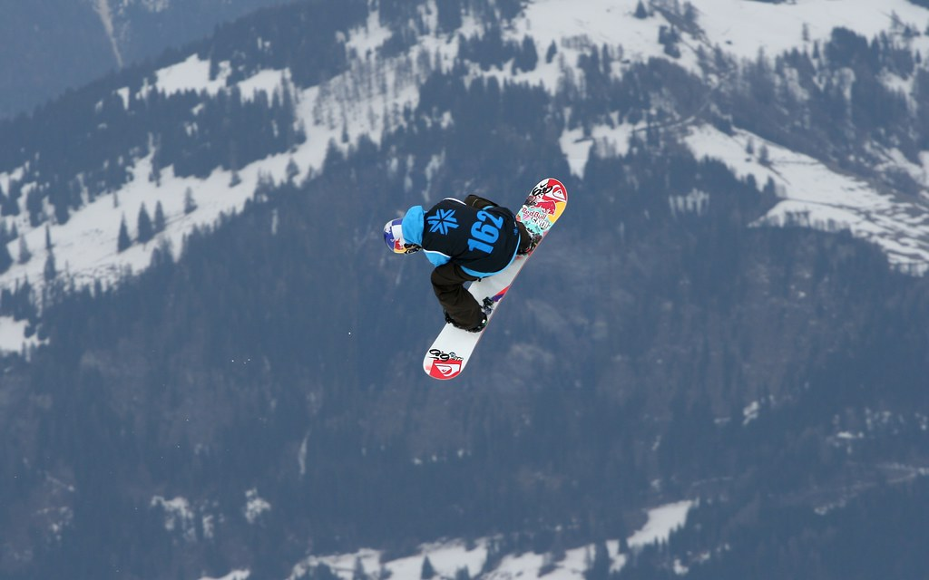 Jamie Nicholls Snowboard Big Air Finals Winner