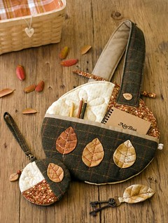 Autumn Leaf set | by PatchworkPottery