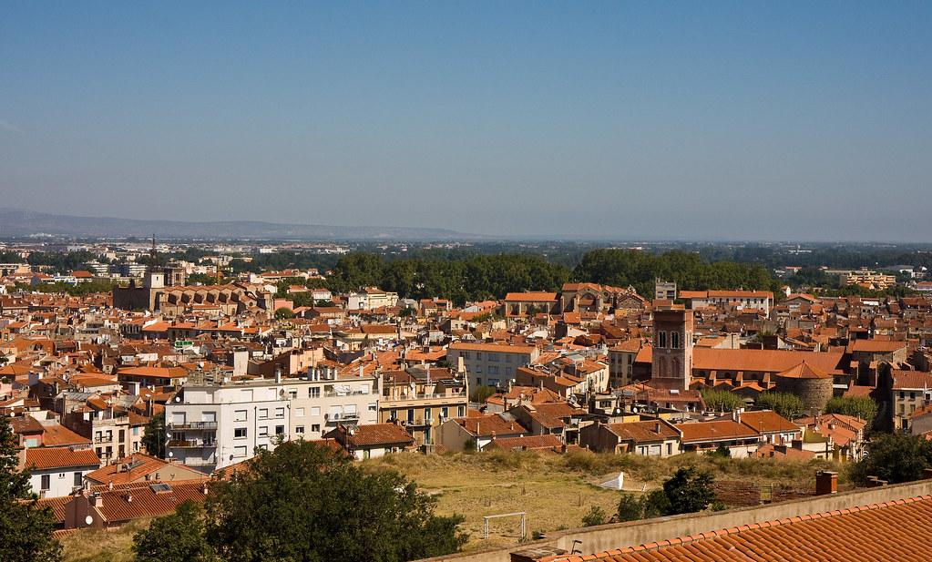 View of perpignan from the palais des rois de majorque flickr - Palais des rois de majorque perpignan ...