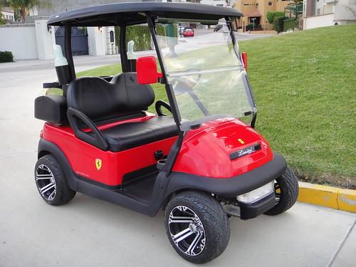 Club car precedent ferrari red rashcavit flickr for Auto motor club comparisons