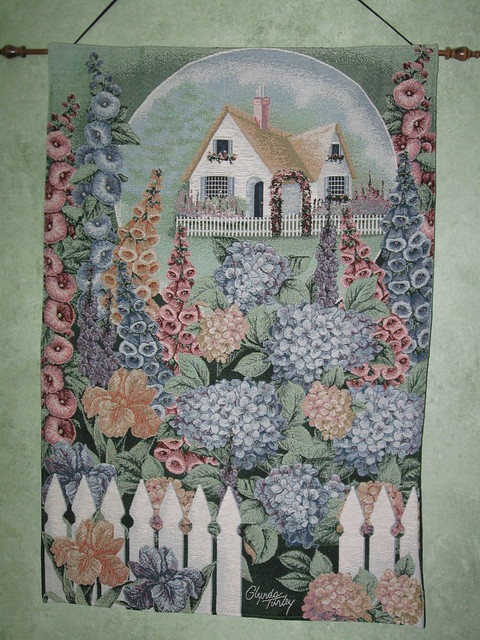 Tapestry Wall Room