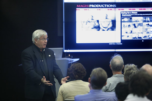 Fr. Don Doll, S.J. Visits the Diederich College of Communication | by Diederich College of Communication