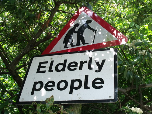 Elderly People - sign on Warwick Road, Olton | by ell brown