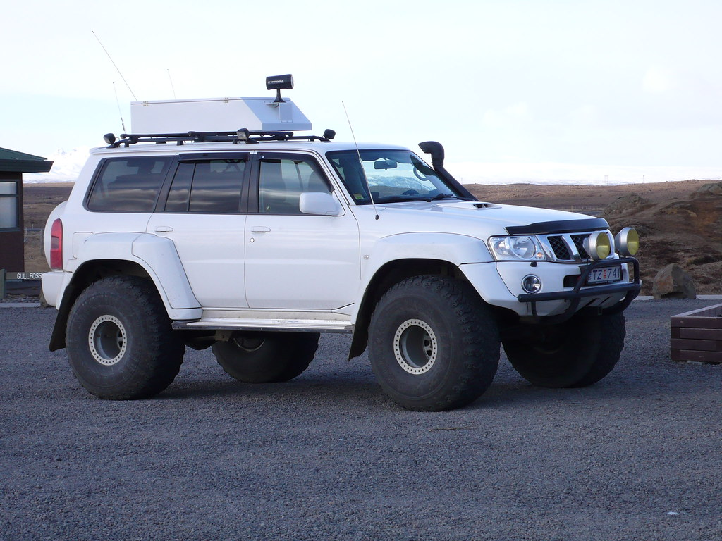 Icecap suv iceland has lots of 4x4 vehicles as many