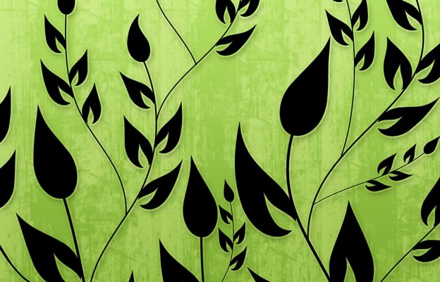 Climbing Vines Wallpapers In Lime Green By Backgroundsetc