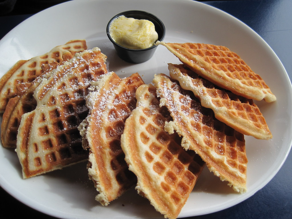 Ryan 39 s waffle from blue water bar and grill kim flickr - Blue water bar and grill ...