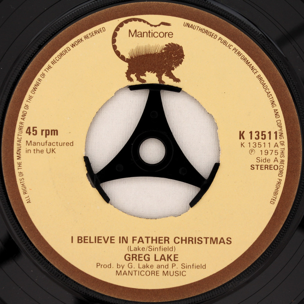 greg lake i believe in father christmas by leo reynolds - Greg Lake I Believe In Father Christmas