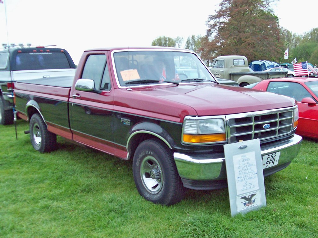 1992 Ford F250 >> 68 Ford F150 XL Pick Up (1995) | Ford F Series Pick Up (1992… | Flickr