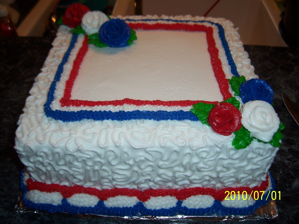 4th Of July Cakes 4th Of July Birthday Cakes Made For Ki Flickr