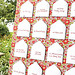 Escort Card Pin Board-Red Letter Day-Martha Stewart Weddings-Camille Styles