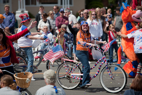 July 4th 2010 Parade in Cayucos, CA - an exhibition of Americana Patriotism Central Coast California Culture | by mikebaird