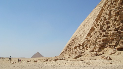 Pyramid climbing in Dahshur | by BetterLifeCycle