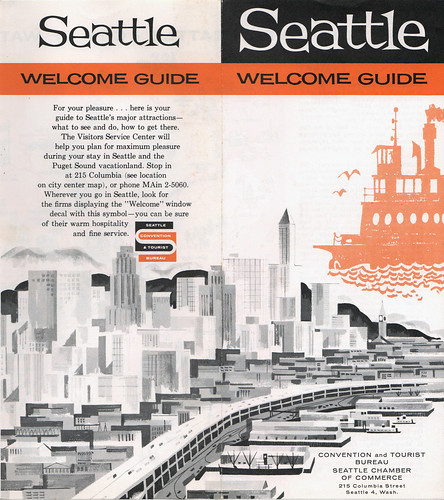 Seattle Welcome Guide | by wardomatic