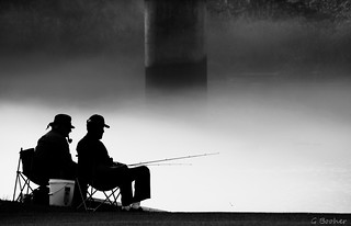 Smoking and Fishing 2 | by Greg Booher