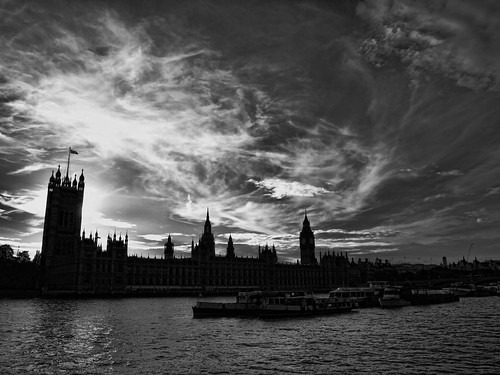 Alien skies over Parliament : P7060713_ ed | by pete riches