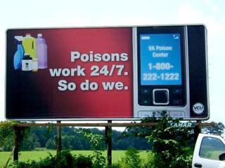 Virginia Poison Center OOH | by Bright Orange Advertising