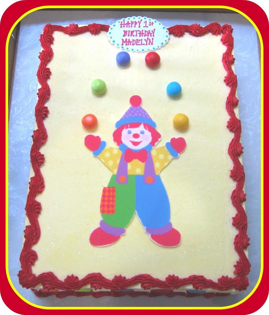Gymbo the Clown Birthday Cake Grace Tari Flickr