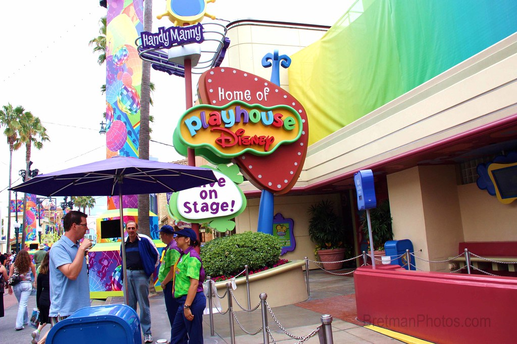 Bretman Photos: California Adventure's Playhouse Disney ...