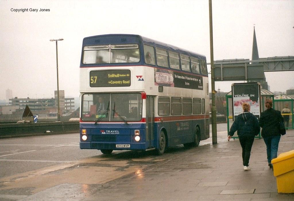 2973 A113 Wvp Travel West Midlands Mcw Metrobus Mk Ii