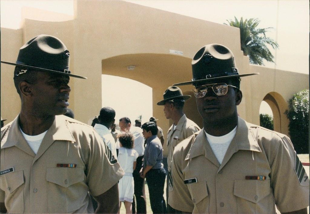 Marine Corps Drill Instructor School Graduation: 1985   Flickr