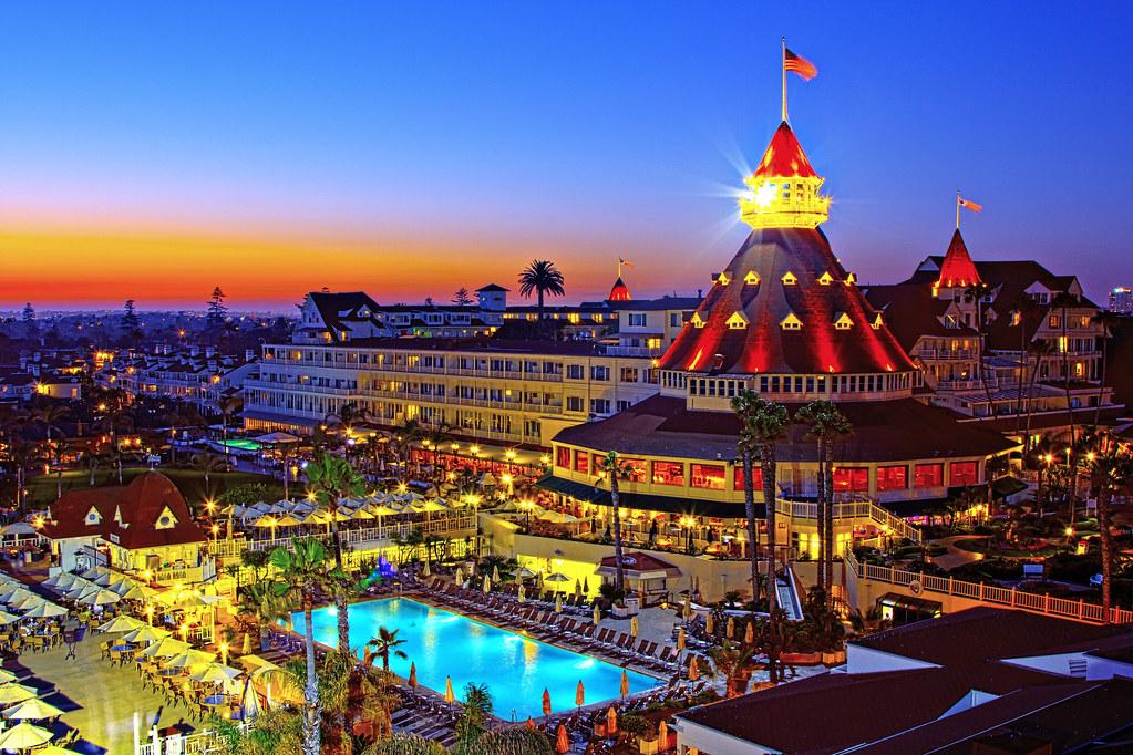 San Diego - Hotel Del Coronado