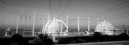 San Onofre Nuclear Generating Station B/W | by JoeInSouthernCA