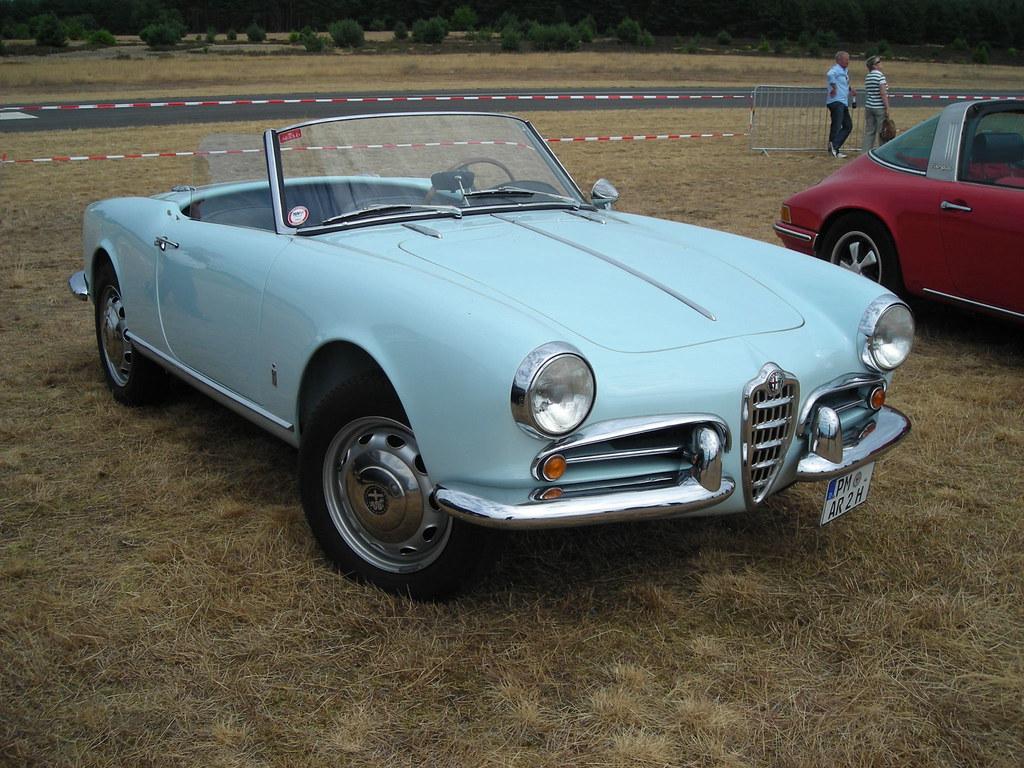 alfa romeo giulietta spider - 1300 cc (1955-1962) | the alfa… | flickr