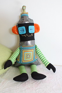 Robot softie | by LouGrace