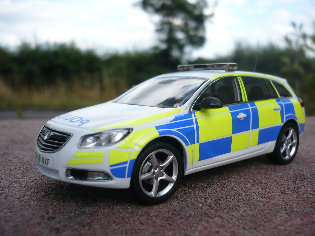 1 43 code 3 vauxhall insignia police demo traffic car flickr. Black Bedroom Furniture Sets. Home Design Ideas