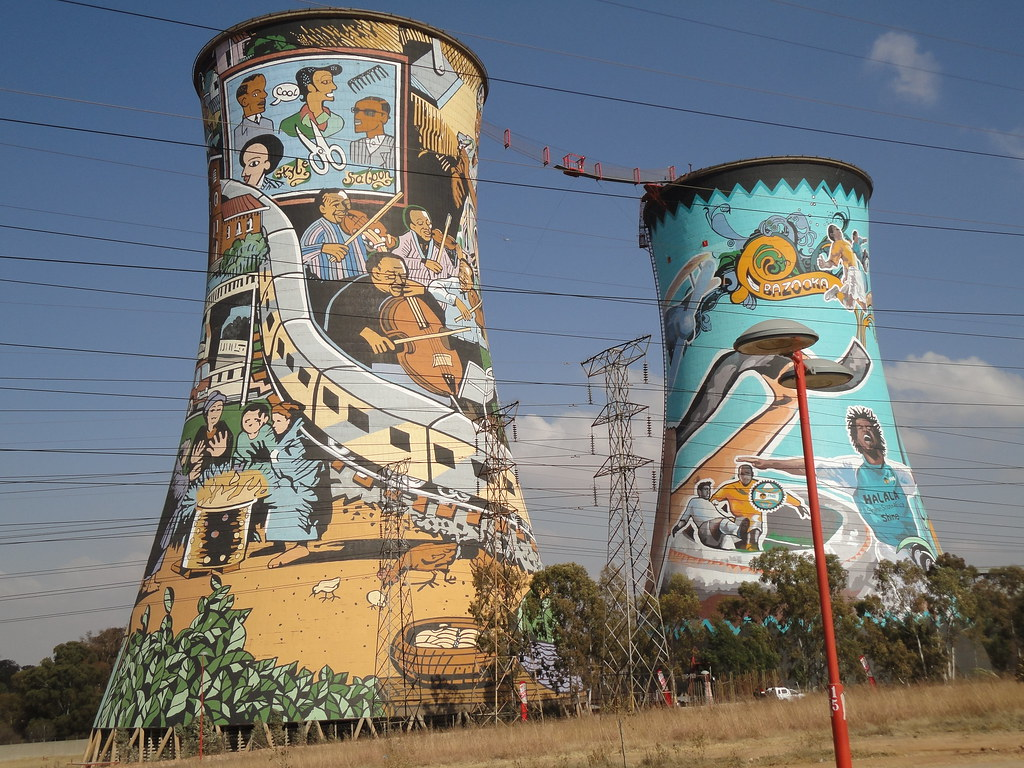 Soweto S Orlando Towers H Yip Flickr