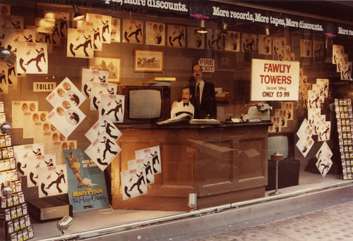 hmv 363 Oxford Street, London - Fawlty Towers 'Second Sitting' LP release 1981 | by hmv_getcloser