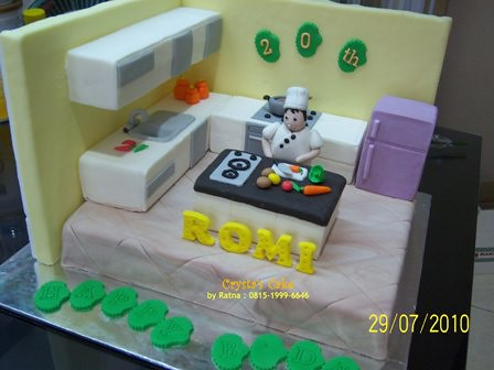 Kitchen Set Cake By Crysta S Cakes 29 07 10 A Challange Flickr