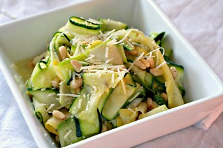 Zucchini Salad | by The Noshery