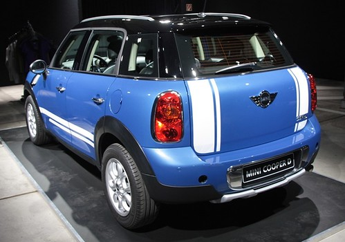 mini countryman with exterior accessoires picture taken by flickr. Black Bedroom Furniture Sets. Home Design Ideas