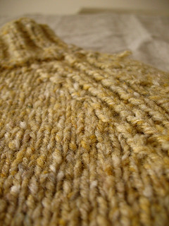 yellow pullover close-up | by coco knits