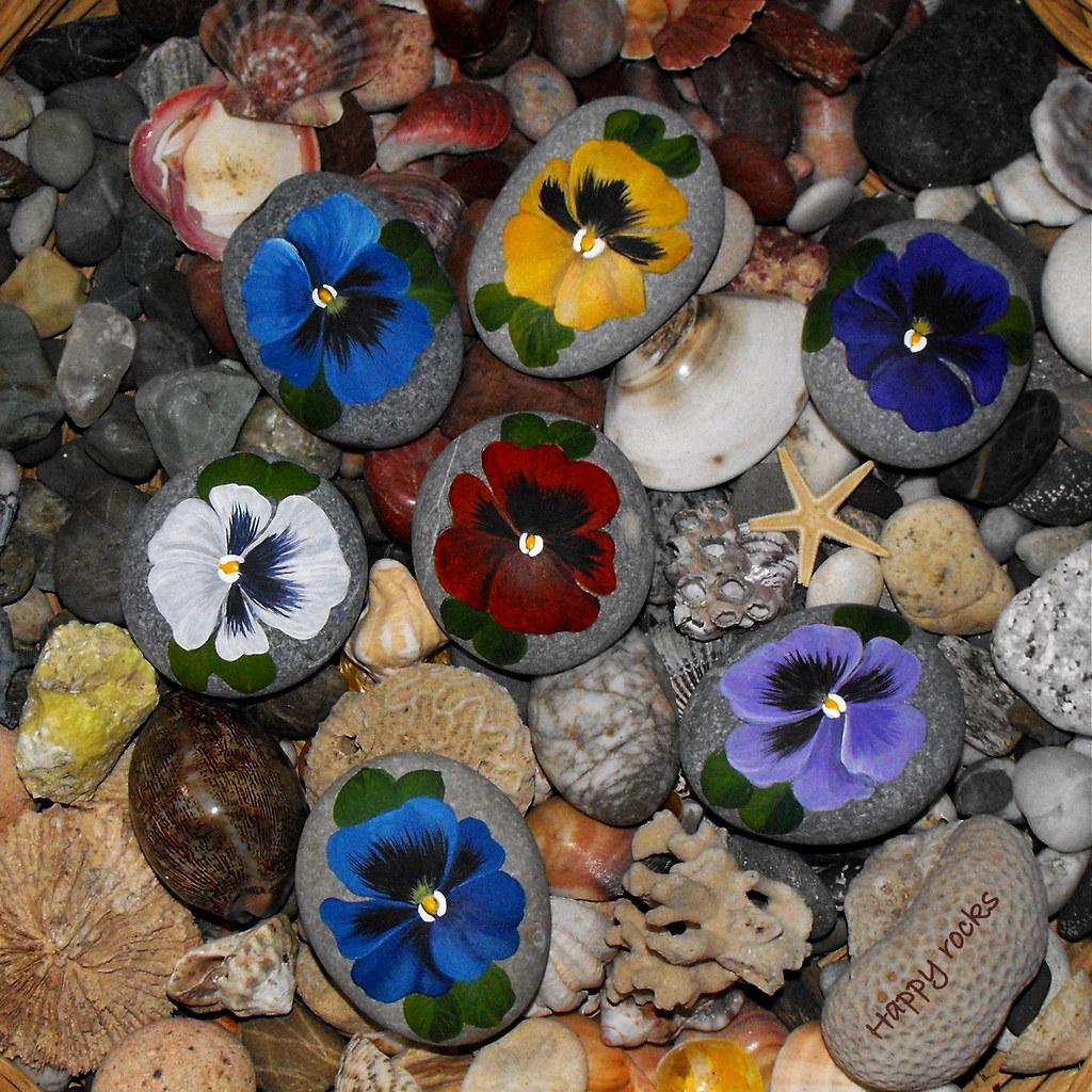Рисунки на камнях для дачи фото 20 фотография