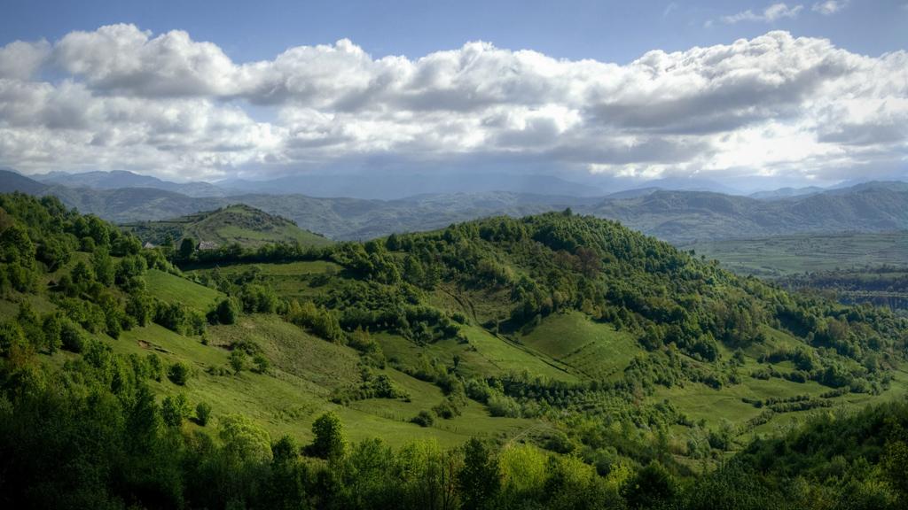 Romanian landscape maramure fr paysage pendant une for Romania landscape
