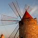Windmills (and waxing moon) - Mulini (e luna crescente)