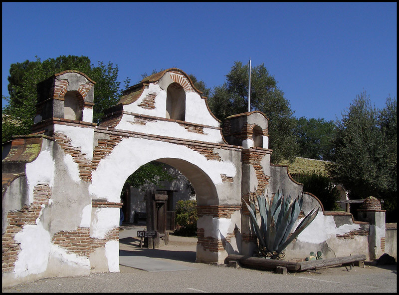 Photo Mission San Miguel Arcangel California S Spanish