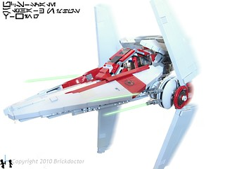 UCS Alpha-3 Nimbus-class V-wing Interceptor | by Brickdoctor